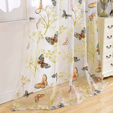 butterfly curtains for living room carameloffers