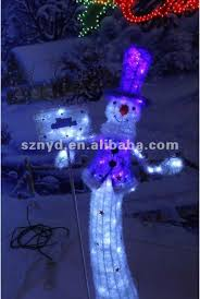 funny led snowman for outdoor christmas decorations buy lighted