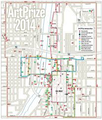 Western Michigan University Campus Map by Artprize 2014 Venue And Neighborhood Maps Mlive Com