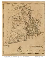 Ri Map Ri State Maps