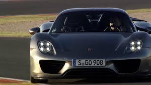 Porsche 918 Blue Flame - porsche speed and motion