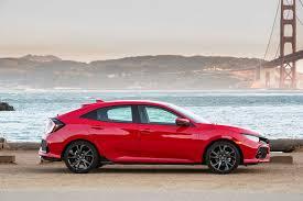 honda civic crowned top car 2017 honda civic hatchback first drive review motor trend