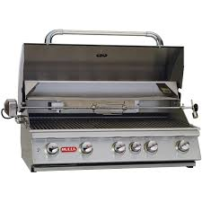 Bull Bbq Outdoor Kitchen Bull Brahma 38 Inch 5 Burner Built In Natural Gas Grill With
