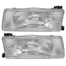 nissan sentra tail light cover autoandart com 91 92 nissan sentra new pair set headlight