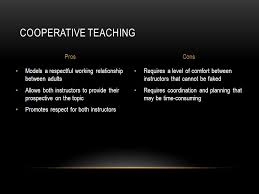 Comfort Level Definition Team Teaching Definition Of Team Teaching Co Instructor And The