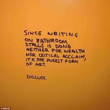 Scottish Bathroom Signs Photos Of Hilarious U2013 And Occasionally Insightful U2013 Bathroom