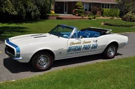 camaro pace car sold 1967 camaro ss rs 350 convertible indy 500 pace car edition