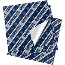 dallas cowboys gift bags wrapping paper gift tags nflshop com