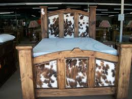 Bedroom Rustic Furniture Warehouse Rustic Furniture Warehouse - Cowhide bedroom furniture