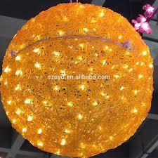 wedding decoration light decorating big balls