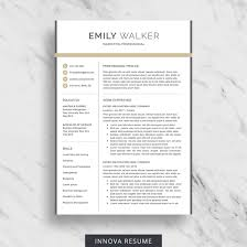 Best Resume Templates With Photo by 10 Best Etsy Resume Templates Graphicadi