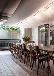 Indoor Garden by Danish Design Studio Creates An Indoor Garden For A Restaurant