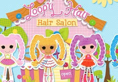 lalaloopsy loopy hair loopy hair saloon lalaloopsy