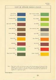 british colour schemes 1940s to early 50s hillary colour palate