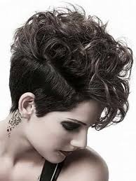 curly shaved side hair pixie curly hair shaved sides summer ideas pinterest shaved
