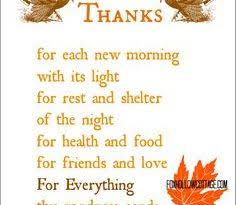 thanksgiving prayers page 30 festival collections