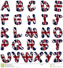 british flag font royalty free stock image image 10056286