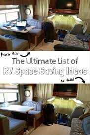 rv storage ideas 100 rv space saving ideas to organize your rv