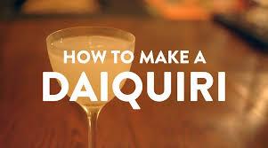 how to make a daiquiri what u0027s good london youtube