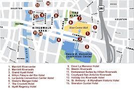 houston map convention center san antonio map of hotels newatvs info