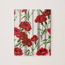 Red Carnations Red Carnation Print Gifts On Zazzle