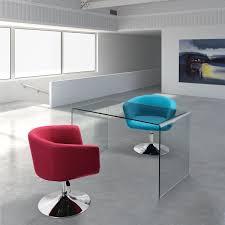 Glass Desk Office Furniture by Modern Glass Desks For Flexible Work Glass Office Desks Executive