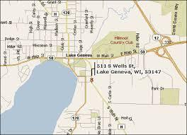 map of lake geneva wi paradise golf park lake geneva wisconsin