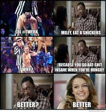 Eat A Snickers Meme - miley eat a snickers meme collection