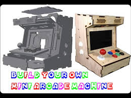 Make Your Own Arcade Cabinet by 10 Diy Alternatives To Picade For Raspberry Pi Retro Gaming