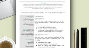 resume 9 best free resume templates download for freshers best