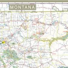 montana maps montana state highway map 2013 2014