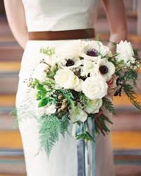 Wedding Flowers Greenery Winter Wedding Flowers Bouquets Perfect For A Wintry Wedding Brides
