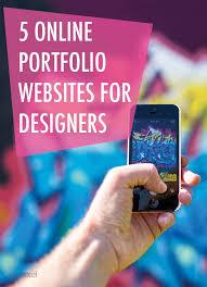 Online Portfolio Resume by Best 20 Online Portfolio Design Ideas On Pinterest Online