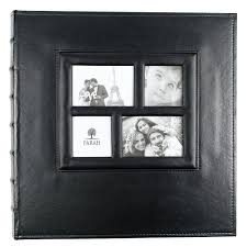 500 4x6 photo album kleer vu photo album suedeleather collection holds