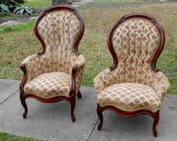 Victorian Armchairs Parlor Chair Etsy