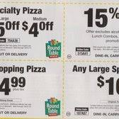 round table pizza menu coupons round table pizza 32 photos 31 reviews pizza 4002 a street