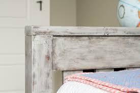 How To Make Furniture Look Rustic by Diy Rustic Twin Beds Sneak Peek Lulu The Baker
