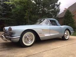 56 corvette stingray 1956 to 1958 chevrolet corvette for sale on classiccars com 58