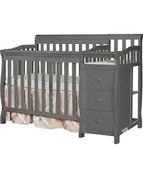 4 In 1 Convertible Crib With Changer Deal Alert On Me 4 In 1 Mini Convertible Crib And