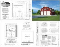 in pdf jpg dwg on a dvd rv guest house garage 40 40 garage plans