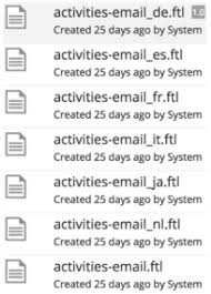 zia lightning talks alfresco email templates zia consulting