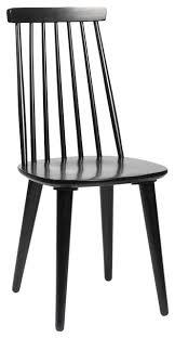 Black Windsor Chairs Rowico Lotta Windsor Chair Black Set Of 4 Scandinavian