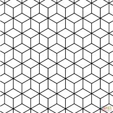 geometric design pattern coloring pages printable inspiring