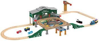 thomas train set wooden table big ticket train gifts for kids wooden train train table and