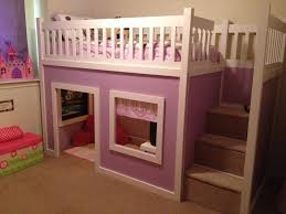 chloe u0027s purple playhouse bed do it yourself home projects from