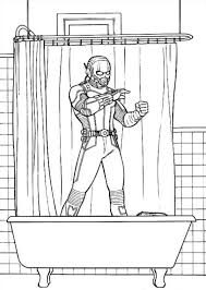 kids n fun com all coloring pages about superheroes