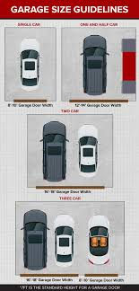 how big is a three car garage an introduction to garage door sizes continental door