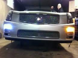 cadillac cts v clear foglights w switchback led s