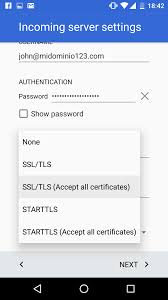 Yahoo Business Email Server Settings by Configure An Email Account On Android 6 Marshmallow Help Center