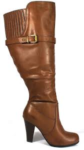 buy boots wide calf how to buy wide calf brown boots ebay